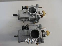 02513 Yamaha Banshee YFZ350 38mm Mikuni Flat Slide Carburetors 97 1997 CF