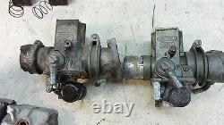1974 benelli tornado 650 S582 dellorto flat slide carbs carburetors w manifolds