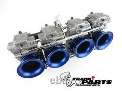 4x Velocity stack blue Keihin FCR flatslide racing carburetor 35 37 39 41 stacks