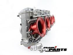 4x Velocity stack red Keihin FCR flatslide racing carburetor 35 37 39 41 stacks