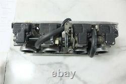 91 Suzuki GSX R GSXR 750 GSXR750 Mikuni flat slide carbs carburetors set rack