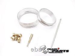 Adapters + jets + jet needle kit Mikuni TM 40 flatslide carburetor Honda FMX 650