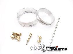 Adapters + jets + jet needle kit Mikuni TM 40 flatslide carburetor Honda XR 600