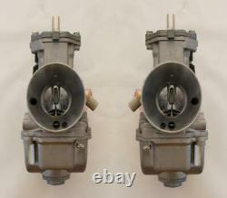 Amal 626 26mm Replacement Carburetor Set Jrc-26 Flat Slide With Alloy Body T100