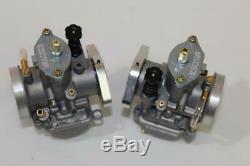 Amal 930 30mm Replacement Powerjet Carburetor Set Flat Slide 2 Flange 650 750