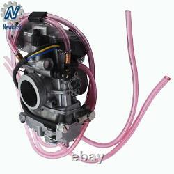 FCR MX 37 Flat Slide 37mm Carburetor for Suzuki RMZ250 RMZ 250 Carb 2004-2009
