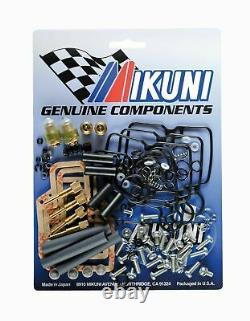 Fits Suzuki Genuine Mikuni RS Flatslide Carburettor Rebuild Kit. 34.36.38.40mm