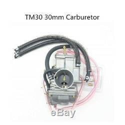 Flat Slide Carburetor For Mikuni TM 30mm ATV Motorcycle Yamaha DT200S DT200WR