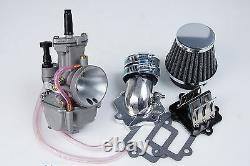 Flat slide PWK 24 Carburetor kit for Eton Viper 70 2stk RXL-70 2T ATV Quads TW