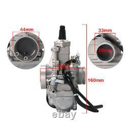 Flatslide Carburetor For MIKUNI 28MM 42-6090 13-5047 TM28FS VM28-418 Carb
