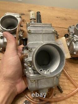 Four Vintage Nos Mikuni Tm-36 Tm36-2 Flat Slide 36mm Carb Carburetor Motorcycle