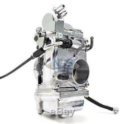 Genuine Mikuni HSR45 HSR 45mm Polished Performance Pumper Carburetor TM45-2PK