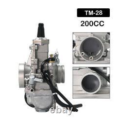 Genuine Real Mikuni 28mm TM28 Flat Slide Performance Carburetor Carb VM28-418