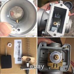 Genuine Real Mikuni TMX 38mm Flat Slide Performance 47mm Carburetor Carb TM38-27