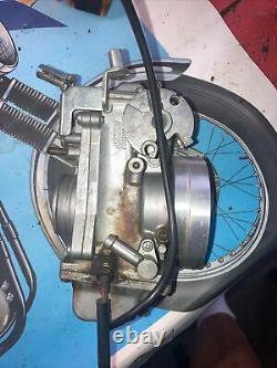 Harley Mikuni TM42 flat slide carburetor carb