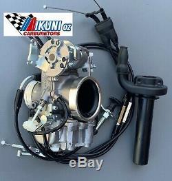 Honda XBR500, GB500 single Mikuni TM40-6 Flatslide Pumper Carb Kit