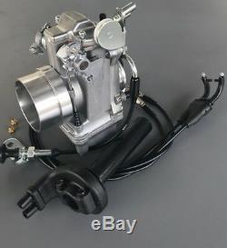Honda XR600 XR650L Mikuni Carburetor, TM42-6 42mm Flatslide Pumper Cable Choke