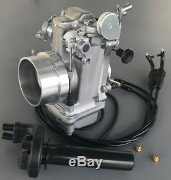 Honda XR600 XR650L Mikuni Carburetor, TM42-6 42mm Flatslide Pumper Knob Choke