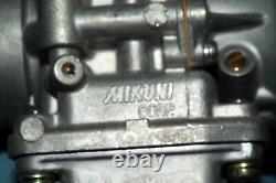 KAWASAKI H2 750 NEW MIKUNI 38mm FLAT SLIDE CARBURETORS SET OF (3) HONDA SUZUKI