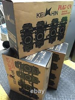 KEIHIN FCR 35 FLATSLIDE CARBURETORS / Kawasaki ZX6 ZX6R Zx-6 Ninja ZX 600