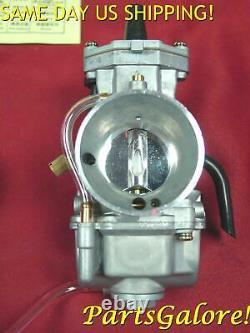 KOSO 34mm Smooth Bore Flat Slide Power Jet Carburetor TM34 PWK OKO Keihin Mikuni