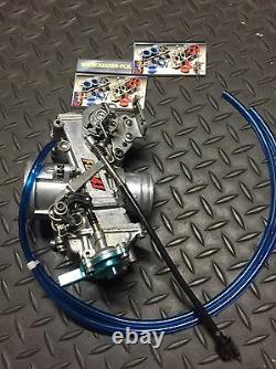 Keihin FCR 39 Flatslide Carburetor FCR39 KTM XR DR KLX KLX400 DRZ 400S 400E