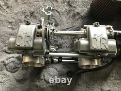 Keihin FCR 39 carburetor kit Triumph Bonneville Thruxton flatslide racing FCR39