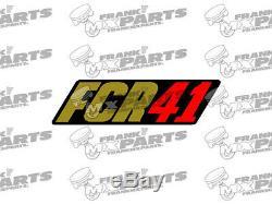Keihin FCR racing logo sticker / 28 33 35 37 39 41 decal flatslide carburetor