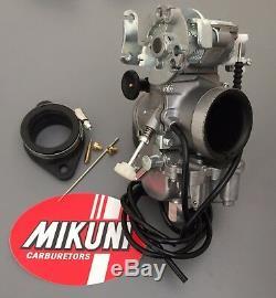 Mikuni Carb TM36-68 36mm Flatslide Pumper Basic Kit Yamaha SR XT TT 400 500cc