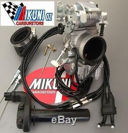 Mikuni Carb TM36-68 36mm Flatslide Pumper Total Kit Yamaha SR XT TT 400 500cc