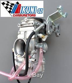 Mikuni Carburetor, TM33 Flatslide Pumper Kit, Honda XR250 (replacing CV carb)