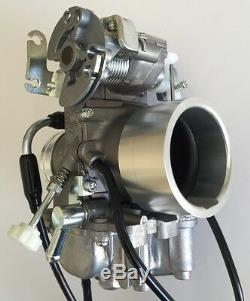Mikuni Carburetor, TM40-6 40mm Flatslide Pumper Kit for Honda XR600 (No cables)