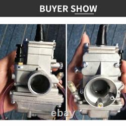 Mikuni Geniune TM 24mm 24 mm Flat Slide Smoothbore New Carb Carburetor TM24 Part
