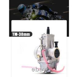 Mikuni Geniune TM 38mm 38 mm Flat Slide Smoothbore Carb Carburetor TM38 Parts
