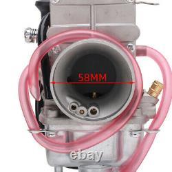 Mikuni Geniune TM34 TM 34mm 300cc-350cc Flat Slide Smoothbore Carb Carburetor