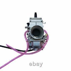 Mikuni Geniune TM34 TM 34mm 34 mm Flat Slide Smoothbore Carb Carburetor TM34-2