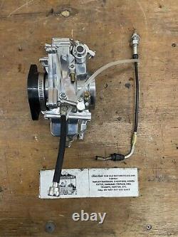 Mikuni HSR 48 Flat Slide Carburetor Polished