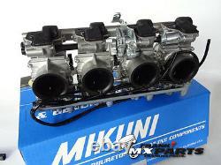 Mikuni RS 38 smoothbore flatslide racing carburetors Suzuki GSF GSX 1100 1200