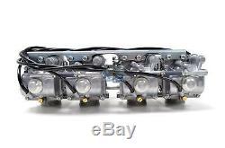 Mikuni RS Performance 38mm Flat Slide Pumper Carburetor Carb Rack RS38-D19-K