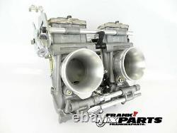 Mikuni TDMR 40 flatslide racing carburetors Yamaha TRX 850 carburetor upgrade