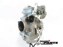 Mikuni TM 40 flatslide racing pumper carburetor kit Suzuki DR 600 DR600 UPGRADE