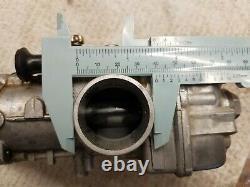 Mikuni TM35 Flat Slide 35mm Carburetor T35-1 with throttle cable and throttle