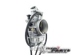 Mikuni TM38-157 TMX flatslide 2-stroke performance carburetor with powerjet TMX 38