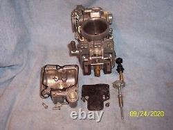 Mikuni Tm40 Flat Slide, Smoothbore, Pumper Race Carburetor