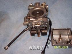 Mikuni Tm42 Flat Slide Smoothbore, Pumper Race Carburetor Harley