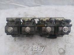 Mikuni flat slide carburetors smooth bores
