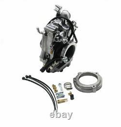 Motorcycle Motor Bike Carb HSR 42mm Carburetor For HARLEY FLHR FLHFB FLHT