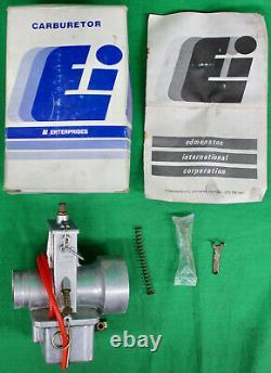 Original NOS 1970's Ei 34mm Flatslide Carburetor NEW Vintage Motocross MX AHRMA