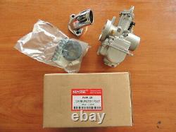 PWK 28 Carb Carburetor 28mm Racing Flat Slide + Intake for ANF125 TUNING