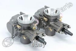 PWK 34 Carburetor Left Right Set Flatslide 34mm Yamaha 650 650CC 800CC 1000CC